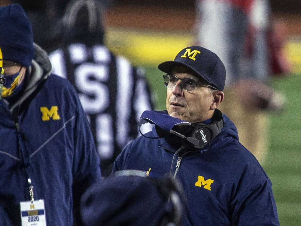 Michigan, Jim Harbaugh agree to new 5-year deal