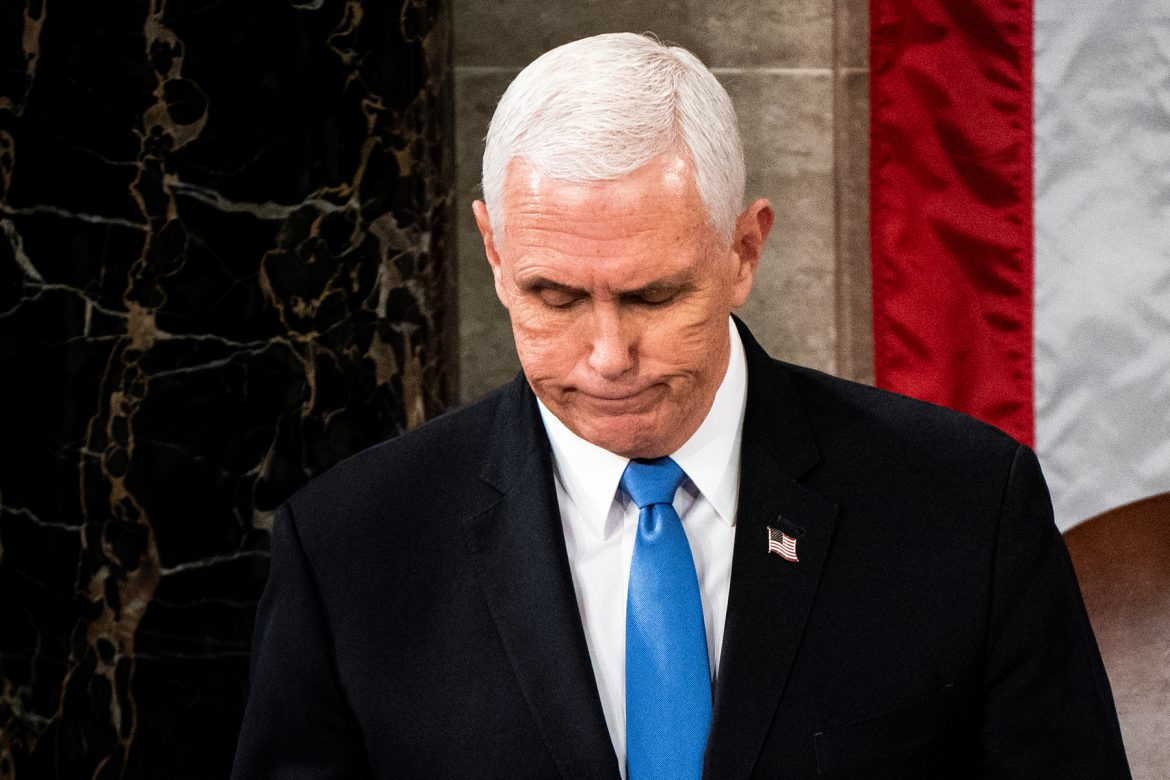 I Stayed Up Past Midnight to Watch Mike Pence Eat Shit, and It Was Beautiful