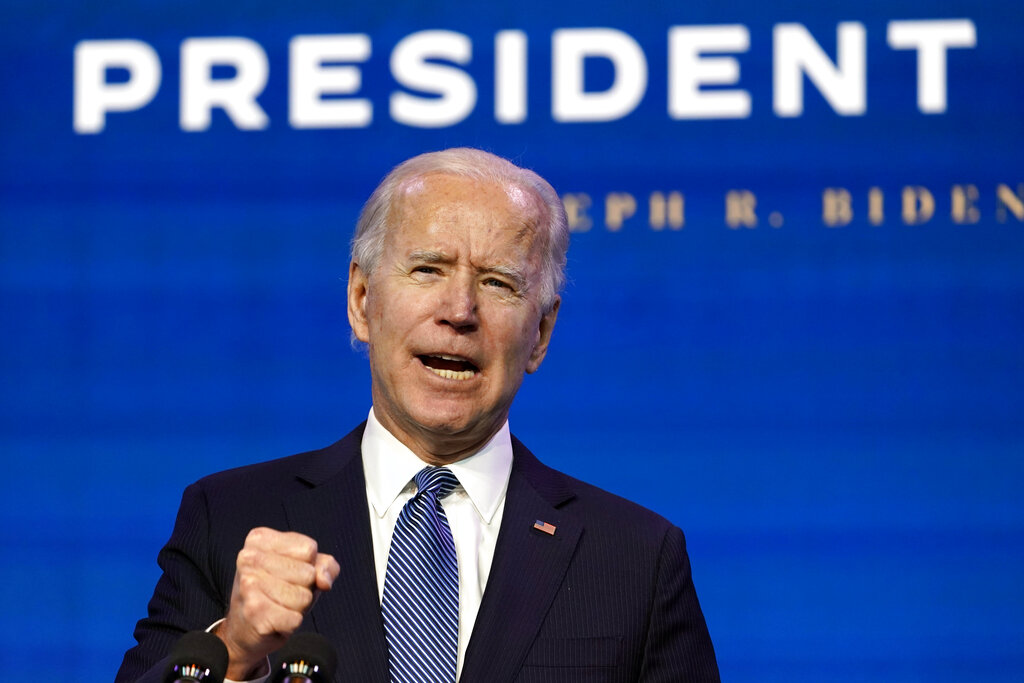 Biden: Trump 'not above the law. Justice serves the people — it doesn't protect the powerful'