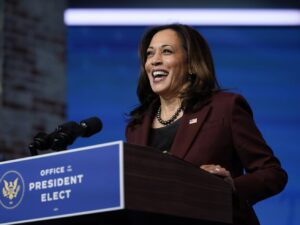 Vice President-elect Kamala Harris will resign her Senate seat Monday