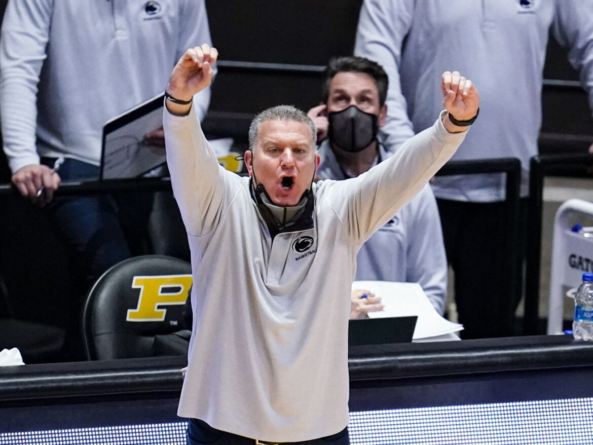 Big Ten issues reprimand to Penn State basketball coach Jim Ferry, fines school