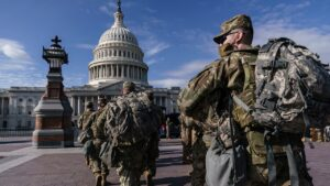 National Guard break time in Capitol-area parking garage gets lawmakers fuming