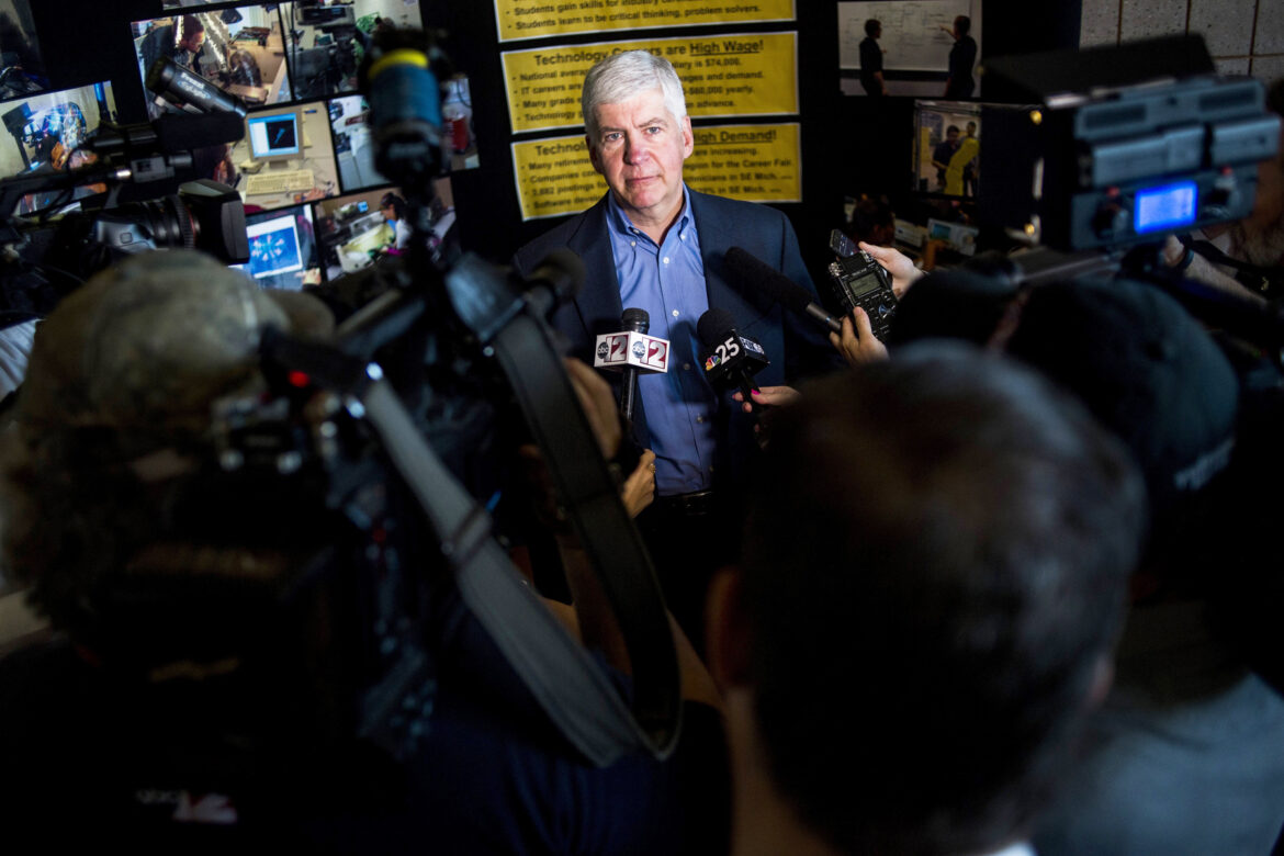 Michigan Charges Ex-Governor Rick Snyder With 'Neglect' in Flint Water Crisis