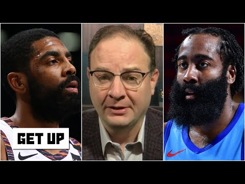 Woj reports: James Harden pushing for a trade & the latest on Kyrie Irving's absence   Get Up