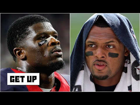 Reacting to Texans great Andre Johnson's tweet about Deshaun Watson | Get Up