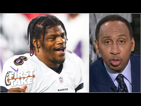 Stephen A. has some concerns about Lamar Jackson playing in the snow | First Take