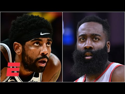 Breaking down how the Nets will look with Harden, Durant and Kyrie | Chiney & Golic Jr.