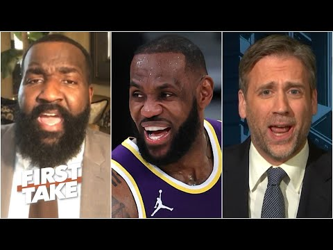 Perk: LeBron will be the 'undisputed GOAT' if the Lakers beat the Nets in the Finals   First Take