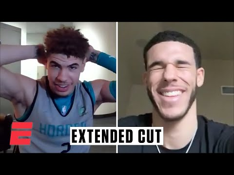 A conversation with LaMelo and Lonzo Ball (Extended cut) | NBA on ESPN