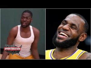 The story behind the LeBron James 'reaction video' to the James Harden trade   SportsNation
