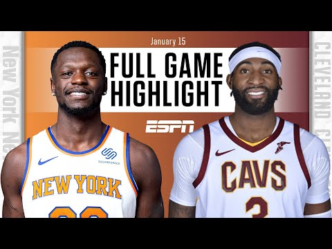 New York Knicks vs. Cleveland Cavaliers [FULL GAME HIGHLIGHTS] | NBA on ESPN
