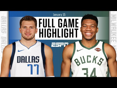 Dallas Mavericks vs. Milwaukee Bucks [FULL GAME HIGHLIGHTS] | NBA on ESPN