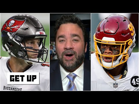 Chase Young calling out Tom Brady is what the playoffs are about! – Jeff Saturday | Get Up