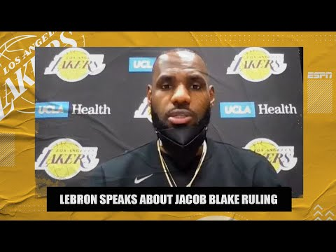 LeBron James reacts to no charges filed in Jacob Blake shooting | NBA on ESPN
