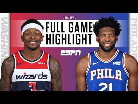 Washington Wizards vs. Philadelphia 76ers [FULL GAME HIGHLIGHTS] | NBA on ESPN
