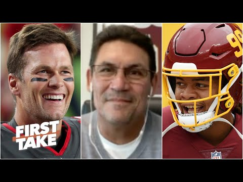 Ron Rivera: Chase Young is just excited to play against Tom Brady | First Take