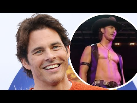 "James Marsden Claims He Turned Down ""Magic Mike"" Role"