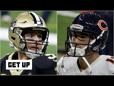Discussing the Saints' Super Bowl chances and Mitchell Trubisky's future with the Bears | Get Up
