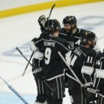 Kings rally from early deficit to beat Avalanche for first win of season