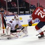 Blackhawks' overtime loss spoils strong performance from young players