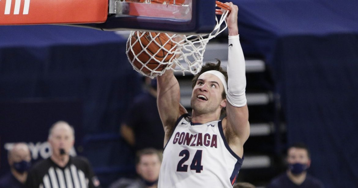 College basketball: Corey Kispert, Suggs lead Gonzaga past rival BYU