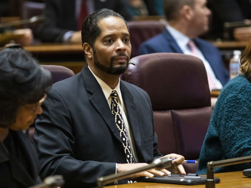 Ald. Anthony Beale (9th) attends a City Council meeting in 2019.