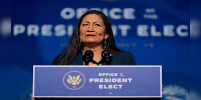 Haaland has become one of the first Native American women to serve in Congress. (AP)