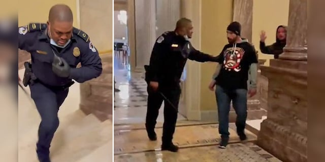 Capitol Police Officer Eugene Goodman should be awarded Congressional Gold Medal, lawmakers say in resolution