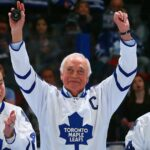 George Armstrong, four-time Stanley Cup winner with Maple Leafs, dies at 90