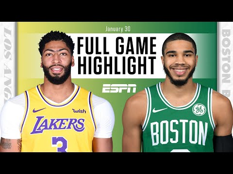 Lakers hold on vs. Celtics after chaotic final sequence [FULL GAME HIGHLIGHTS] | NBA on ESPN