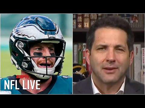 Carson Wentz is going to want a trade from the Eagles – Adam Schefter | NFL Live
