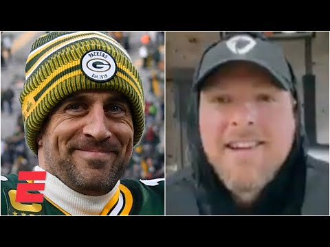 Pat McAfee predicts Aaron Rodgers & the Green Bay Packers will win the Super Bowl | #Greeny