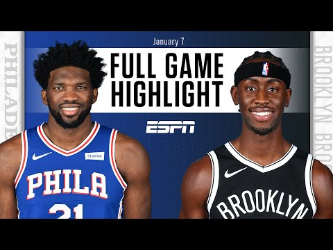 Philadelphia 76ers vs. Brooklyn Nets [FULL GAME HIGHLIGHTS] | NBA on ESPN