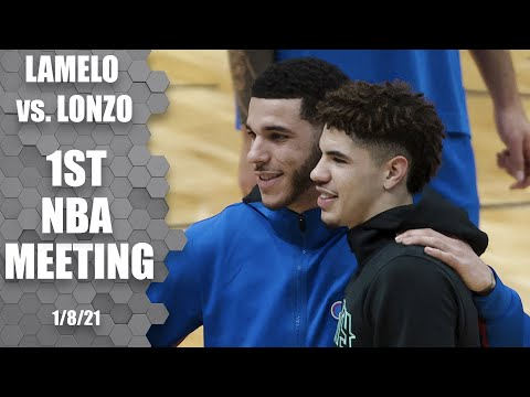 LaMelo Ball vs. Lonzo Ball: LaMelo gets near-triple-double and the win [HIGHLIGHTS] | NBA on ESPN