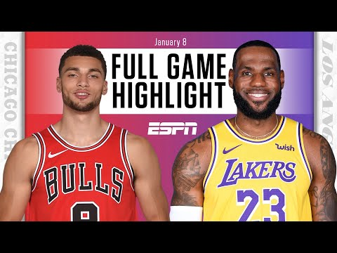 Chicago Bulls vs. Los Angeles Lakers [FULL GAME HIGHLIGHTS] | NBA on ESPN