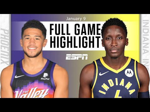 Phoenix Suns vs. Indiana Pacers [FULL GAME HIGHLIGHTS]   NBA on ESPN