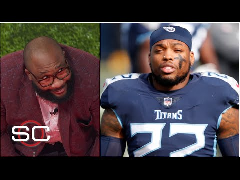 Marcus Spears is reeling about Derrick Henry's game against the Ravens   SportsCenter