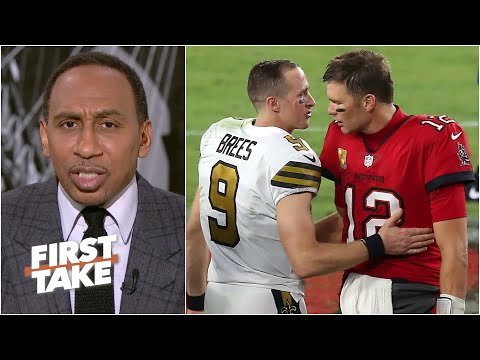 What's at stake in the Brady vs. Brees playoff game? | First Take