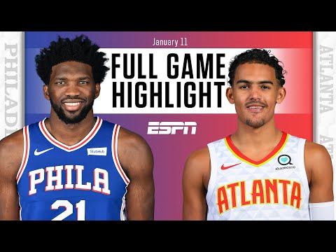 Philadelphia 76ers vs. Atlanta Hawks [FULL GAME HIGHLIGHTS] | NBA on ESPN
