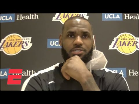LeBron James on bet with Dennis Schroder and comparisons to Steph Curry's no-look-3  | NBA on ESPN