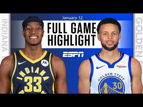 Indiana Pacers vs. Golden State Warriors [FULL GAME HIGHLIGHTS]   NBA on ESPN