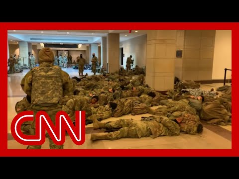 'Nothing like I've seen:' Troops deployed inside US Capitol