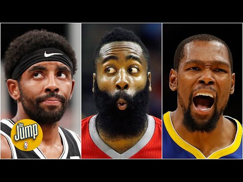 Who takes the last shot for the Nets: Kevin Durant, James Harden or Kyrie Irving?   The Jump