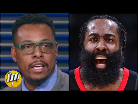 James Harden can't be the same as he was in Houston – Paul Pierce on the Nets' big 3 | The Jump