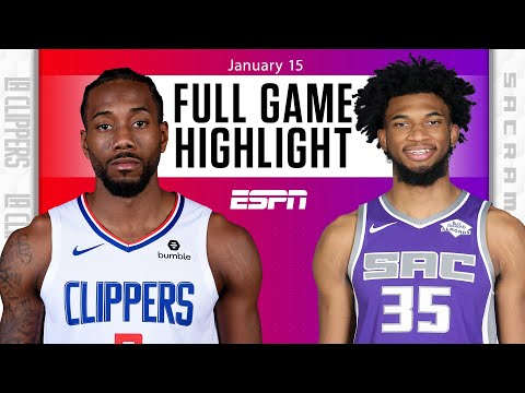 LA Clippers vs. Sacramento Kings [FULL GAME HIGHLIGHTS] | NBA on ESPN