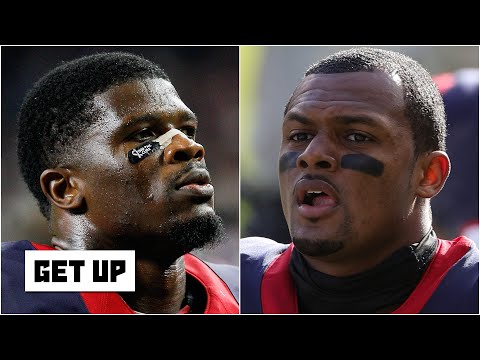 Former Texans WR Andre Johnson says Deshaun Watson should stand his ground with team | Get Up