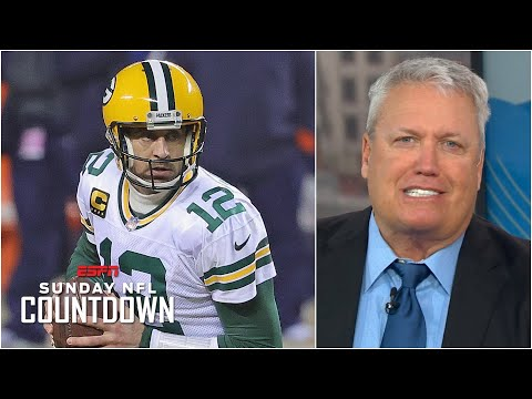 Rex Ryan says Aaron Rodgers is playing 'desperate' this season | NFL Countdown