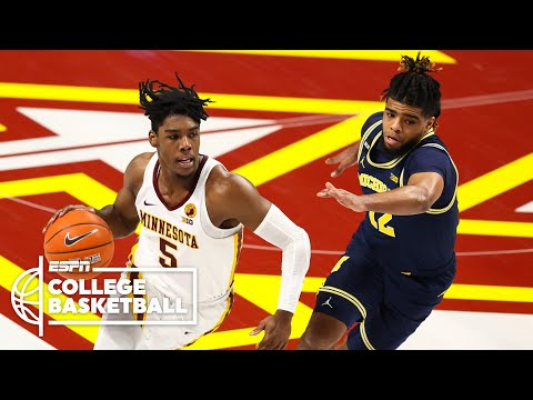 Michigan suffers first loss of season vs. Minnesota [HIGHLIGHTS] | ESPN College Basketball