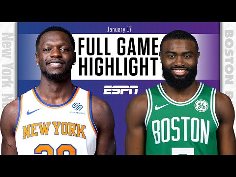 New York Knicks vs. Boston Celtics [FULL GAME HIGHLIGHTS] | NBA on ESPN
