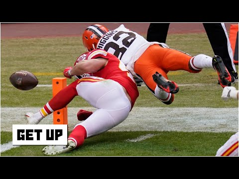 Discussing the Browns' costly fumble vs. the Chiefs | Get Up